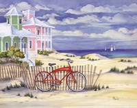 Beach Cruiser Cottage I Fine-Art Print