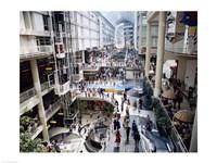 Shopping mall, Eaton Centre, Toronto, Ontario, Canada Fine-Art Print