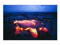 Kilauea Volcano Hawaii Volcanoes National Park Hawaii USA Fine-Art Print