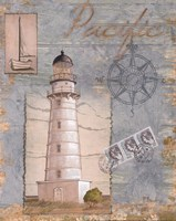 Seacoast Lighthouse II Fine-Art Print