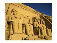 Great Temple of Ramses II, Abu Simbel, Egypt Fine-Art Print