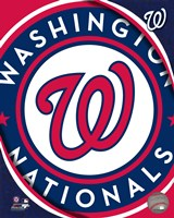 2011 Washington Nationals Team Logo Fine-Art Print