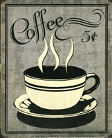 Retro Coffee I Fine-Art Print
