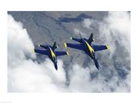 U.S. Navy Blue Angels F-18 Hornets photography Fine-Art Print