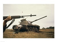M-14 Rifle M60 Tank Fine-Art Print