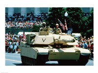 1A1 Ambrams Main Battle Tank Fine-Art Print