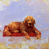 Golden Dog Fine-Art Print