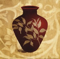 Red Vase II Fine-Art Print