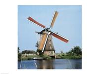Windmills Kingergisk Netherlands Fine-Art Print