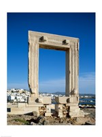 Portara Gateway, Temple of Apollo, Naxos, Cyclades Islands, Greece Fine-Art Print