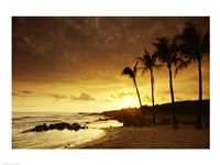 Kauai Hawaii USA at Sunset Fine-Art Print
