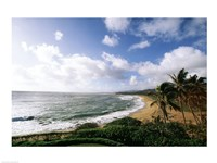 Wailua Beach Kauai Hawaii USA Fine-Art Print