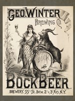 Bock Beer Brewing Company Fine-Art Print