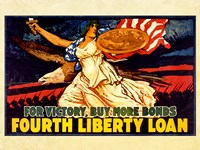 Fourth Liberty Loan Fine-Art Print