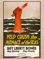 Help Crush the Menace of the Seas Fine-Art Print