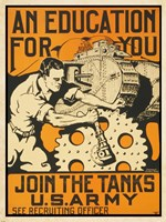 Join the Tanks US Army Fine-Art Print