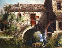 The Old Stone Mill Fine-Art Print