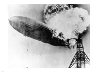 Hindenburg Burning Fine-Art Print