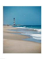 Cape Hatteras Lighthouse Cape Hatteras National Seashore North Carolina USA Prior to 1999 Relocation Fine-Art Print