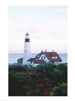 Portland Head Lighthouse Cape And Field Elizabeth Maine USA Fine-Art Print