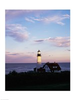 Portland Head Lighthouse Vertical Cape Elizabeth Maine USA Fine-Art Print