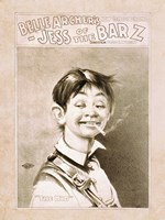 Belle Archer's Comedy Drama Fine-Art Print