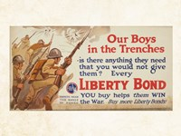Our Boys in the Trenches Fine-Art Print