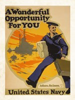 A Wonderful Opportunity for You United States Navy Fine-Art Print
