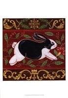 Folk Rabbit II Fine-Art Print