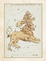 Leo Major and Leo Minor Constellation Fine-Art Print