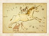 Monoceros Canis Minor and Atelier Typographique Fine-Art Print