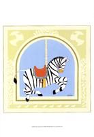 Zebra Carousel Fine-Art Print