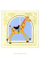 Giraffe Carousel Fine-Art Print