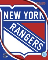 New York Rangers 2011 Team Logo Fine-Art Print