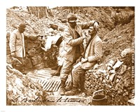 Barber in the Trench Fine-Art Print