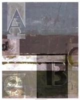Letter Play I Fine-Art Print