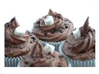 Hot Chocolate Cupcake Fine-Art Print