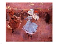 Jean-Louis Forain Can-Can Dancers Fine-Art Print