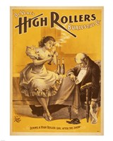 Dining a High Roller Girl After the Show Fine-Art Print