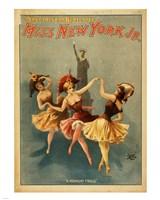 Miss New York Jr. - A Midnight Frolic Fine-Art Print