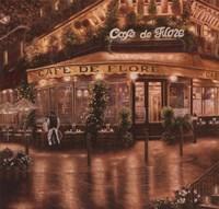 Cafe De Flore Fine-Art Print