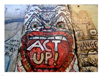 Act Up - Berlin Wall Fine-Art Print