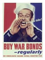 Buy War Bonds Regularly Fine-Art Print
