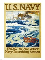 Navy Recruiting Station Fine-Art Print