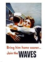 Bring Him Home Sooner Join the Waves Fine-Art Print