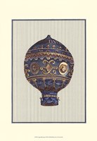 Vintage Ballooning I Fine-Art Print