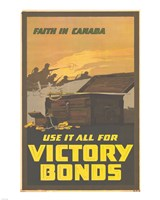 Faith in Canada - Victory War Bonds Fine-Art Print