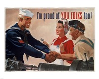1944 Jon Whitcomb US Navy Fine-Art Print