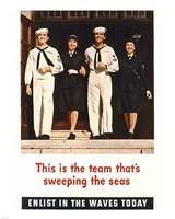Team Sweeping the Seas Fine-Art Print