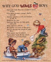 Why God Loves Little Boys Fine-Art Print